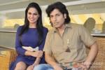 Veena Malik and Rajan Verma at 'Zindagi 50-50' press meet Pic 1