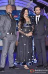 Vishal Dadlani, Shreya Ghoshal and Shekhar Ravjiani at Indian Idol Junior Launch
