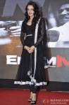 Yuvika Chaudhary at music launch of 'Enemmy'