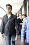 Abhishek Bachchan, Aishwarya Rai Bachchan And Aaradhya Bachchan at Mumbai Airport Pic 2