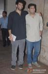 Aditya Roy Kapur And Kunal Roy Kapoor At The Ship of Theseus Screening
