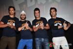 Ali Fazal, Manjot Singh, Varun Sharma and Pulkit Samrat at Fukrey - Jugaad Song Launch