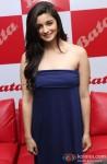 Alia Bhatt during the inauguration of the new biggest Bata store