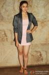 Alia Bhatt poses during the screening of movie D Day