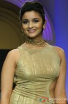 Alia Bhatt walks the ramp at Aamby Valley India Bridal Fashion Week (AVIBFW) 2013