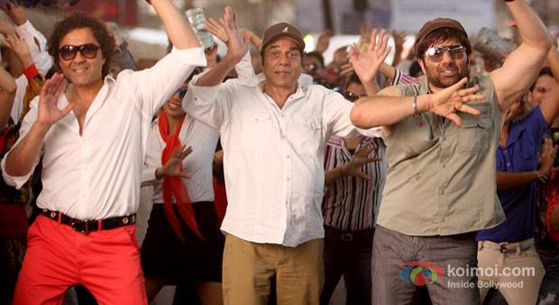 Bobby Deol, Dharmendra Sunny Deol in Yamla Pagla Deewana 2 Movie Stills