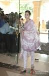 Dia Mirza At Priyanka Chopra's Father's Prayer Meet