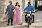 Ehsaan Khan, Prachi Desai and Sanjay Dutt in Policegiri Movie Stills