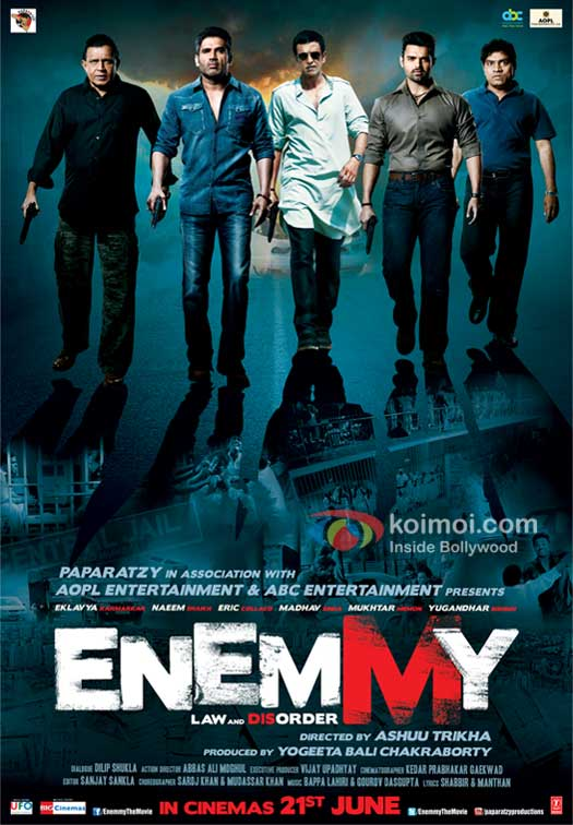 Enemmy Movie Poster
