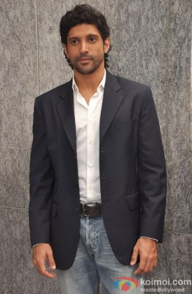 Farhan Akhtar in casual pose