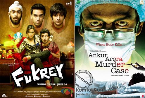 Fukrey- And Ankur Arora Murder Case Movie Poster
