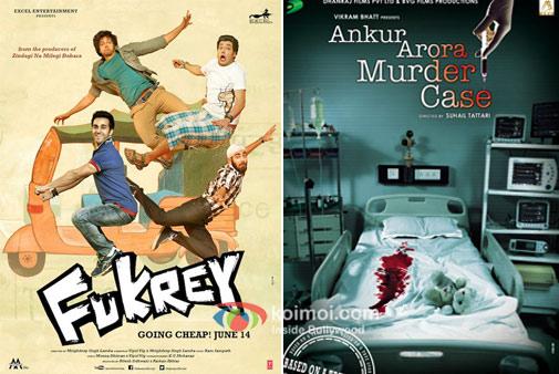 Fukrey And Ankur Arora Murder Case  Movie Poster