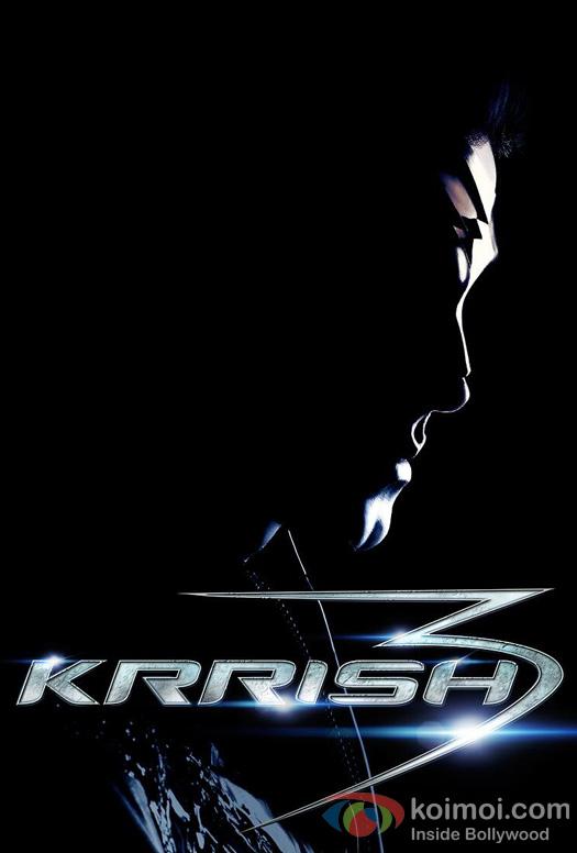 Hrithik Roshan in Krrish 3 Movie Poster