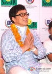 Jackie Chan visits Smile Foundation India Pic 1