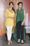 Juhi Chawla And Madhuri Dixit launch 'I Believe' campaign Pic 2