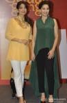 Juhi Chawla And Madhuri Dixit launch 'I Believe' campaign Pic 1