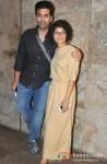 Karan Johar And Kiran Rao At The Ship of Theseus Screening