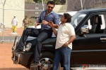 Mahaakshay Chakraborty and Johnny Lever in Enemmy Movie Stills