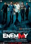 Mithun Chakraborty, Sunil Shetty, Kay Kay Menon, Mahaakshay Chakraborty and Johnny Lever in Enemmy Movie Poster