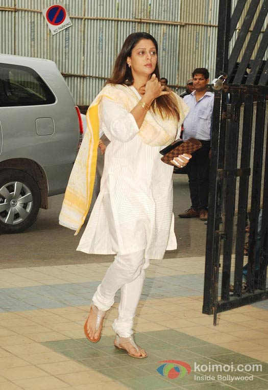 Nagma At Late Actress Jiah Khan's condolence meet | Koimoi