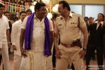 Prakash Raj and Sanjay Dutt in Policegiri Movie Stills