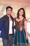 Prateik Babbar And Amyra Dastur at 'Issaq Tera' Song launch Pic 2