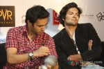Pulkit Samrat And Ali Fazal promote Fukrey in New Delhi