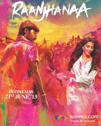 Raanjhanaa Movie Poster
