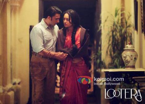 Ranveer Singh And Sonakshi Sinha in Lootera Movie Stills