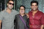 Ranvir Shorey, Vinay Pathak And Ravi Kishan At Launch of Bajatey Raho First Look