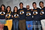 Richa Chadda, Vishaka Singh, Priya Anand, Ali Fazal, Manjot Singh, Varun Sharma and Pulkit Samrat at Fukrey Jugaad Song Launch Pic 1