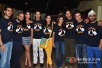 Ritesh Sidhwani, Mrigndeep Lamba, Richa Chadda,Pulkit Samrat , Priya Anand, Vishaka Singh, Ali Fazal, Varun Sharma, Manjot Singh at Fukrey - Jugaad Song Launch