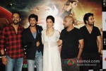 Rohit Shetty, Shah Rukh Khan, Deepika Padukone And Shekhar Ravjiani Launch Chennai Express Trailer