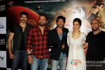 Rohit Shetty, Shah Rukh Khan, Deepika Padukone And Vishal Dadlani Launch Chennai Express Trailer