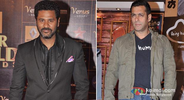 Salman Khan And Prabhudeva