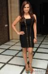 Sana Khan looks stunning in a LBD