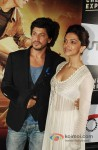 Shah Rukh Khan And Deepika Padukone Launch Chennai Express Trailer Pic 1