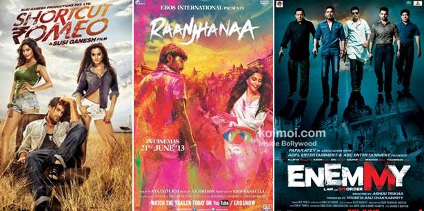 Shortcut Romeo And Raanjhanaa Enemmy Movie Poster