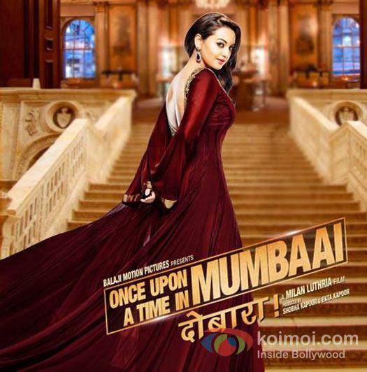 Sonakshi Sinha In Once Upon A Time In Mumbaai Dobaara Movie Poster