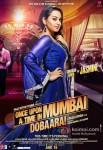 Sonakshi Sinha in Once Upon A Time In Mumbaai Dobaara! Movie Poster 1