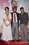 Sonam Kapoor And Farhan Akhtar At 'Bhaag Milkha Bhaag' trailer and music launch Pic 2