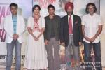 Sonam Kapoor, Farhan Akhtar And Rakeysh Omprakash Mehra At 'Bhaag Milkha Bhaag' trailer and music launch