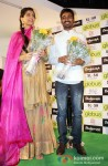 Sonam Kapoor and Dhanush promote their upcoming Film Raanjhanaa Pic 3
