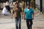 Sunil Shetty and Johnny Lever in Enemmy Movie Stills