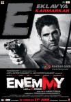 Sunil Shetty in Enemmy Movie Poster