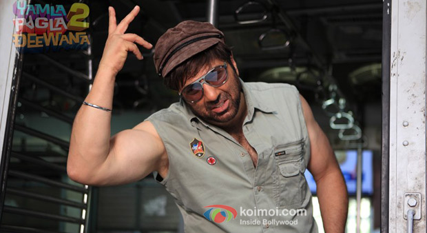 Sunny Deol in Yamla Pagla Deewana 2 Movie Stills