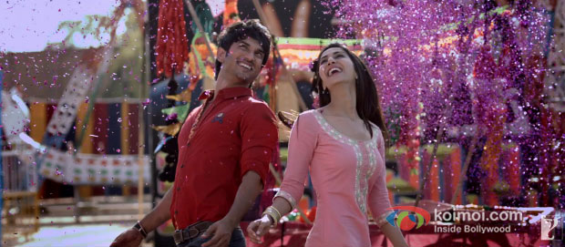 Sushant Singh Rajput And Vaani Kapoor in Shuddh Desi Romance Movie Stills