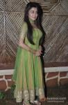 Tina Dutta on the sets of Uttaran