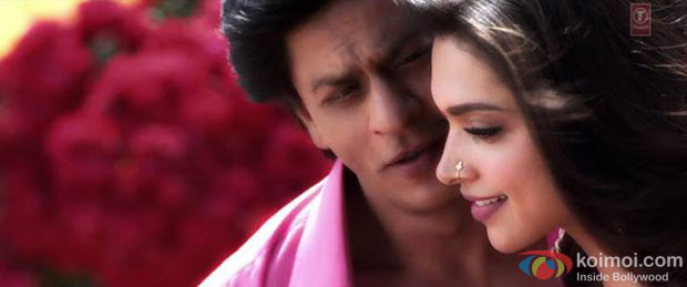 Shah Rukh Khan and Deepika Padukone in Titli Song in Chennai Express Movie Stills