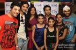 Varun Sharma, Ali Fazal, Richa Chadda, Pulkit Samrat And Manjot Singh promote 'Fukrey' in New Delhi